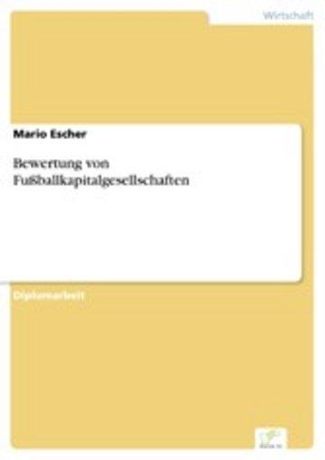 eBook Bewertung von Fußballkapitalgesellschaften Cover