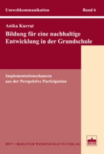 eBook Bildung für eine nachhaltige Entwicklung in der Grundschule Cover