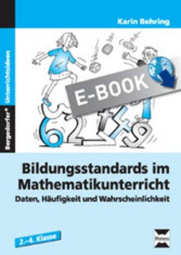 eBook Bildungsstandards Mathematikunterricht - 2.-4. Kl. Cover