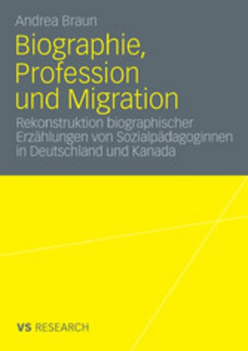 eBook Biographie, Profession und Migration Cover