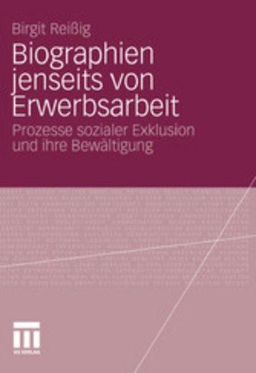 eBook Biographien jenseits von Erwerbsarbeit Cover