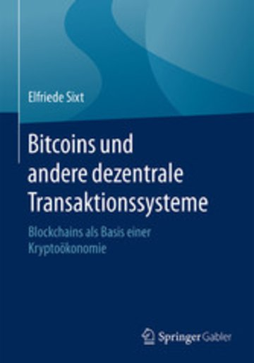 eBook Bitcoins und andere dezentrale Transaktionssysteme Cover