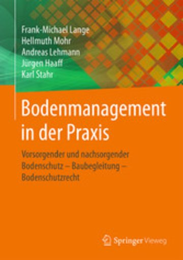 eBook Bodenmanagement in der Praxis Cover