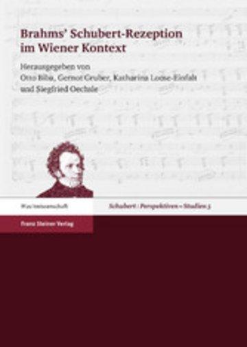 eBook Brahms' Schubert-Rezeption im Wiener Kontext Cover
