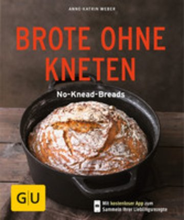 eBook Brote ohne Kneten Cover