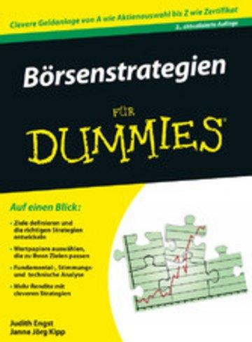 eBook Brsenstrategien für Dummies Cover