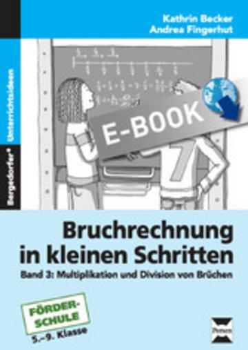eBook Bruchrechnung in kleinen Schritten 3 Cover