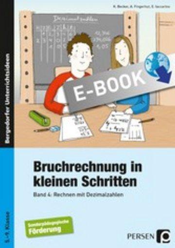 eBook Bruchrechnung in kleinen Schritten 4 Cover