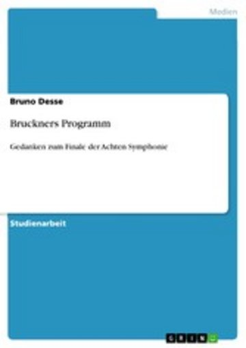 eBook Bruckners Programm Cover