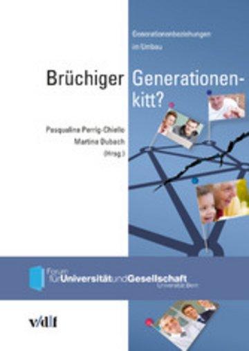 eBook Brüchiger Generationenkitt? Cover