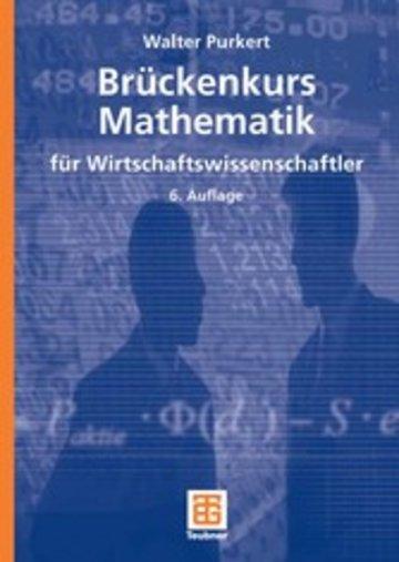 eBook Brückenkurs Mathematik für Wirtschaftswissenschaftler Cover