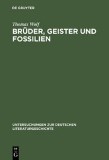 eBook Brüder, Geister und Fossilien Cover