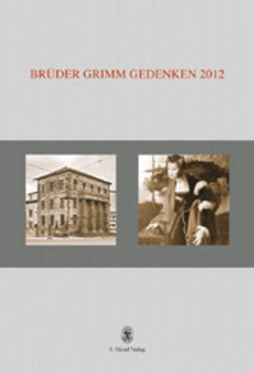 eBook Brüder Grimm Gedenken. Band 17 Cover