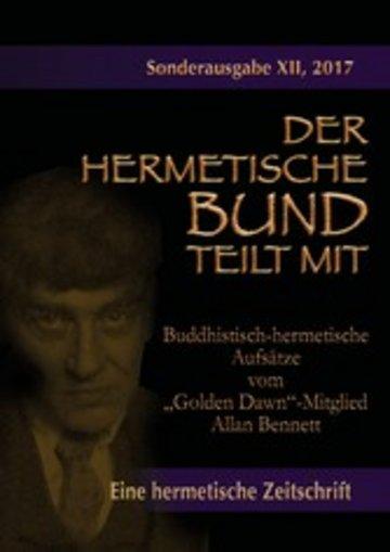 """eBook Buddhistisch-hermetische Aufsätze vom """"Golden Dawn""""-Mitglied Allan Bennett Cover"""