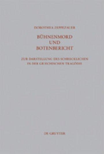 eBook Bühnenmord und Botenbericht Cover