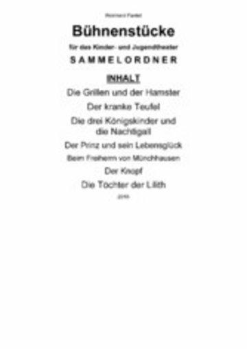 eBook Bühnenstücke für das Kinder- und Jugendtheater Cover