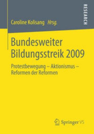 eBook Bundesweiter Bildungsstreik 2009 Cover