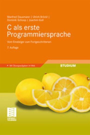 eBook C als erste Programmiersprache Cover