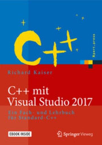 eBook C++ mit Visual Studio 2017 Cover