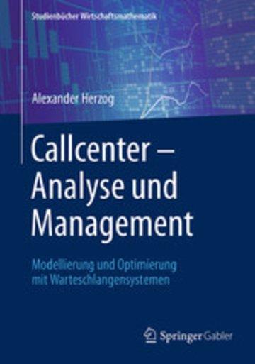eBook Callcenter - Analyse und Management Cover