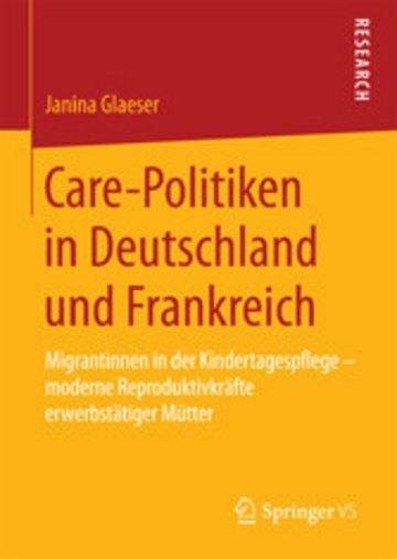eBook Care-Politiken in Deutschland und Frankreich Cover