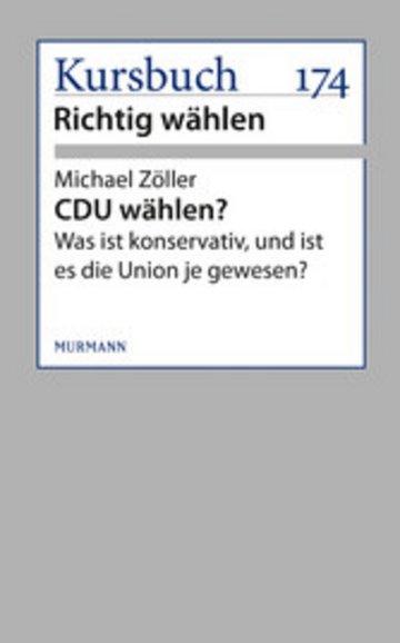 eBook CDU wählen? Cover