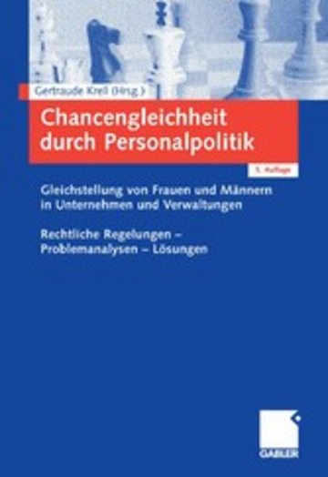 eBook Chancengleichheit durch Personalpolitik Cover