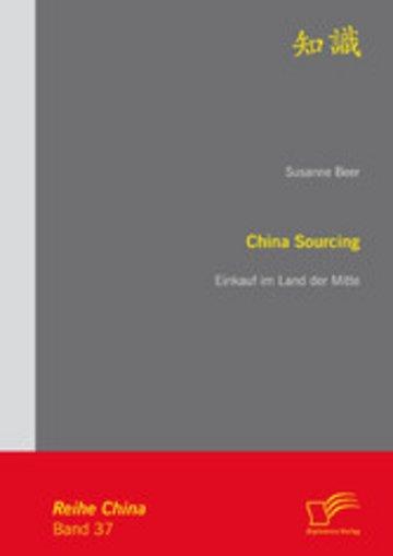 eBook China Sourcing: Einkauf im Land der Mitte Cover
