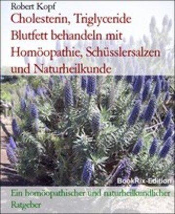 eBook Cholesterin, Triglyceride Blutfett behandeln mit Homöopathie, Schüsslersalzen und Naturheilkunde Cover