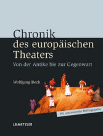 eBook Chronik des europäischen Theaters Cover