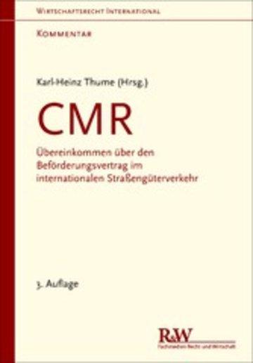 eBook CMR - Kommentar Cover