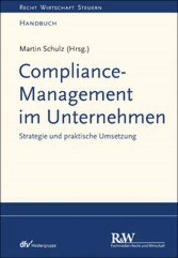eBook Compliance-Management im Unternehmen Cover