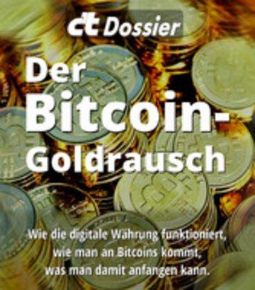eBook c't Dossier: Der Bitcoin-Goldrausch Cover