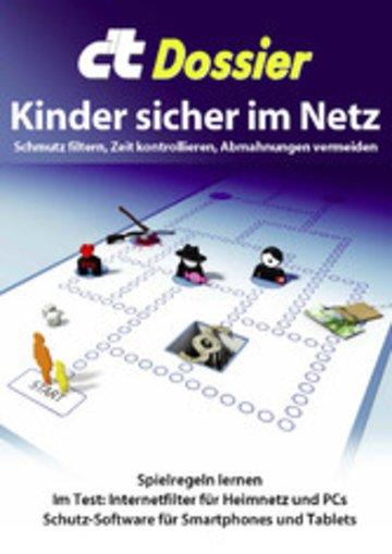 eBook c't Dossier: Kinder sicher im Netz Cover