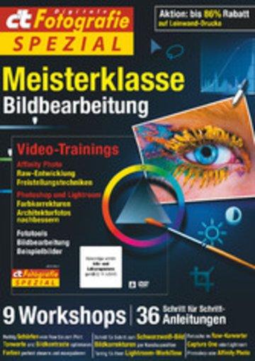 eBook c't Fotografie Spezial: Meisterklasse Edition 5 Cover