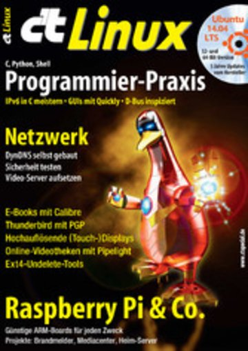 eBook c't Linux 2014 Cover