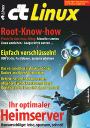 eBook c't Linux 2017 Cover