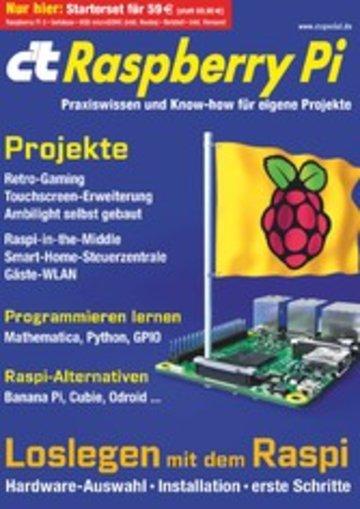 eBook c't Raspberry Pi (2016) Cover