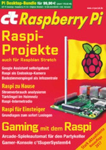 eBook c't Raspberry Pi (2017) Cover