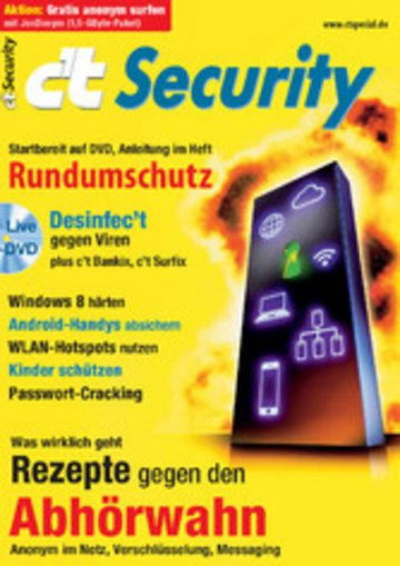 eBook c't Security 2013 Cover