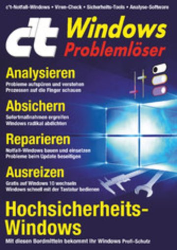 eBook c't Windows (2018) Cover