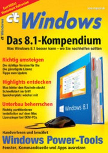 eBook c't Windows Cover