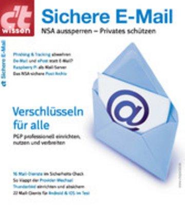 eBook c't wissen Sichere E-Mail (2014) Cover