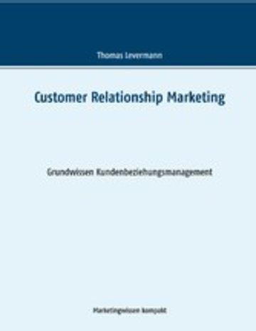 eBook Customer Relationship Marketing Cover