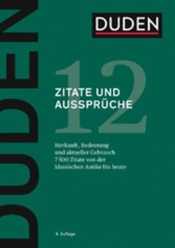 eBook D12 Zitate und Aussprüche Cover