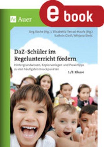 eBook DaF-DaZ-Schüler im Regelunterricht fördern Kl. 1+2 Cover