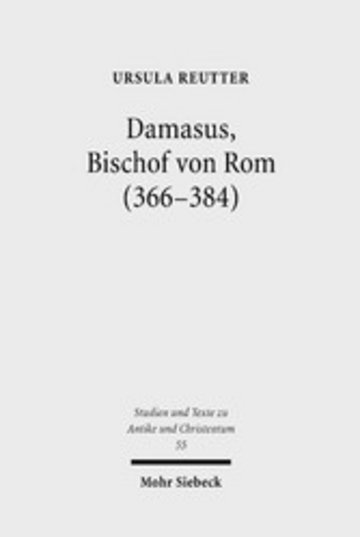 eBook Damasus, Bischof von Rom (366-384) Cover