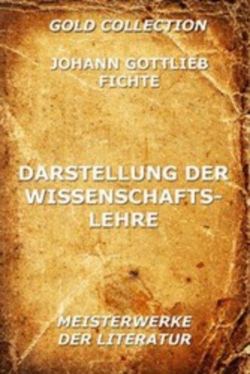 eBook Darstellung der Wissenschaftslehre Cover