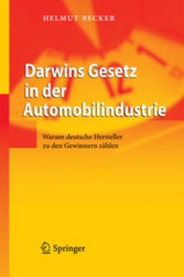eBook Darwins Gesetz in der Automobilindustrie Cover