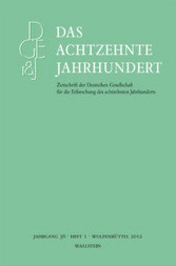 eBook Das achtzehnte Jahrhundert 36/1 Cover
